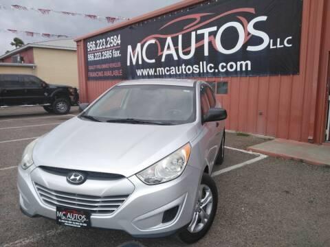 2012 Hyundai Tucson for sale at MC Autos LLC in Pharr TX