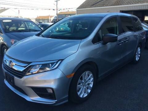 2018 Honda Odyssey for sale at Dijie Auto Sale and Service Co. in Johnston RI