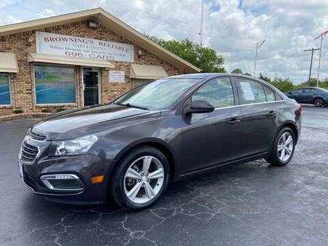 2016 Chevrolet Cruze Limited for sale at Browning's Reliable Cars & Trucks in Wichita Falls TX