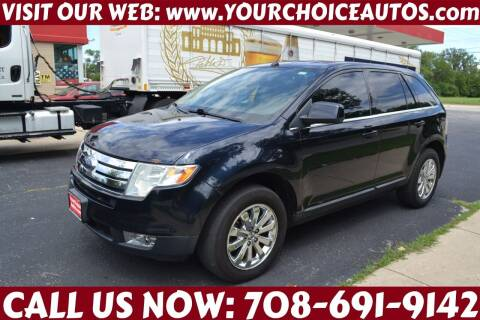 2010 Ford Edge for sale at Your Choice Autos - Crestwood in Crestwood IL
