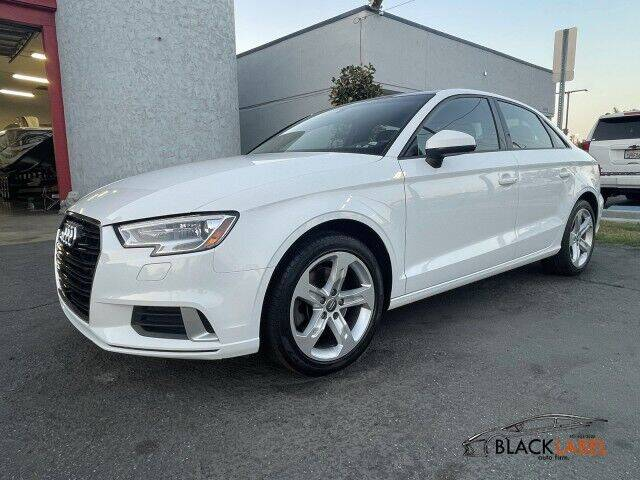 2017 Audi A3 for sale at BLACK LABEL AUTO FIRM in Riverside CA