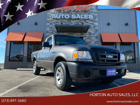 2011 Ford Ranger for sale at HORTON AUTO SALES, LLC in Linn MO
