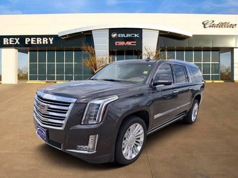 2017 Cadillac Escalade ESV for sale at AutoJacksTX.com in Nacogdoches TX