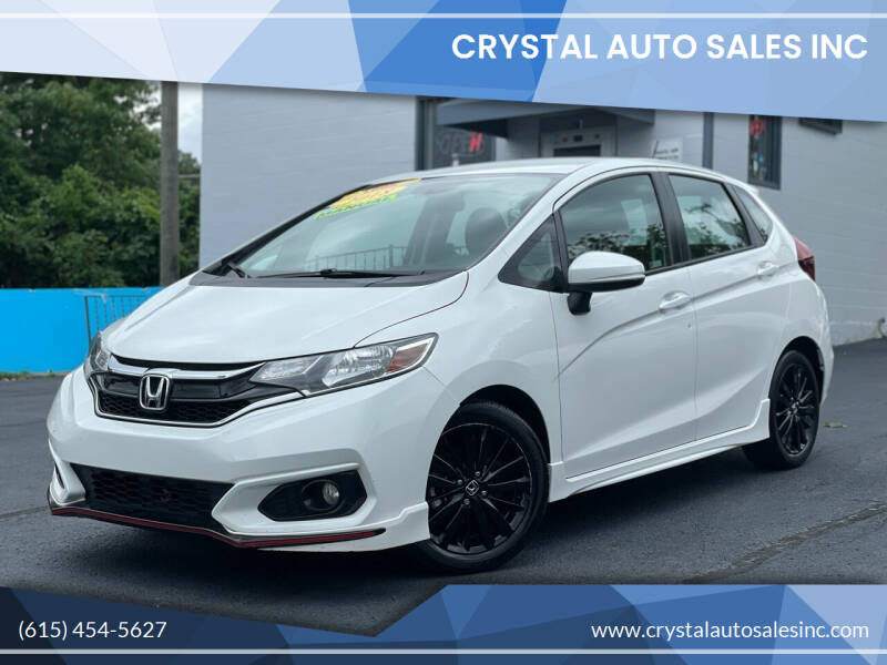 2018 Honda Fit for sale at Crystal Auto Sales Inc in Nashville TN