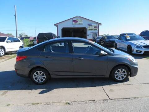 2012 Hyundai Accent for sale at Jefferson St Motors in Waterloo IA