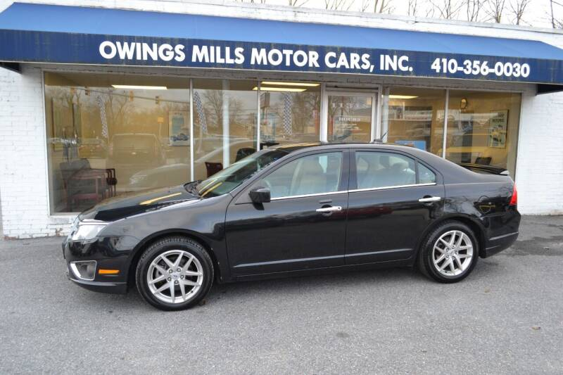 2011 Ford Fusion for sale at Owings Mills Motor Cars in Owings Mills MD