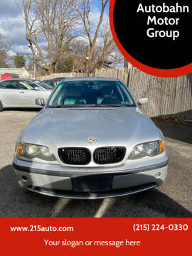 2004 BMW 3 Series for sale at Autobahn Motor Group in Willow Grove PA