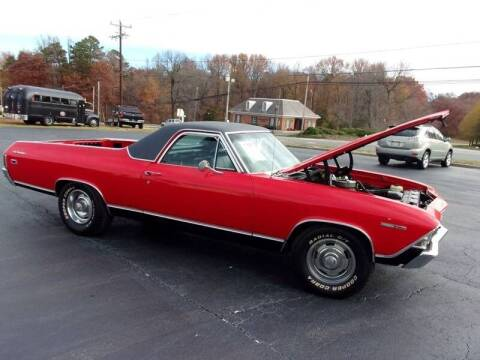 1969 Chevrolet El Camino for sale at Carolina Classics & More in Thomasville NC