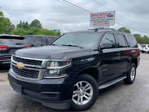 2015 Chevrolet Tahoe for sale at Drive Auto Sales & Service, LLC. in North Charleston SC