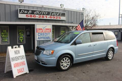 2013 Chrysler Town and Country for sale at D & B Auto Sales LLC in Washington Township MI