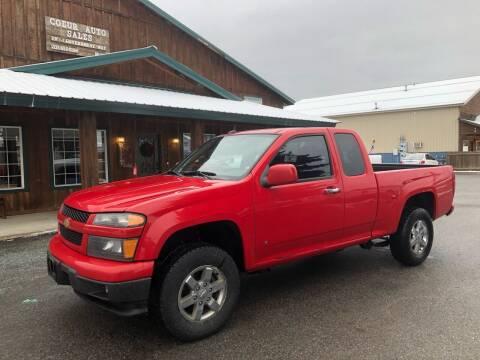 2009 Chevrolet Colorado for sale at Coeur Auto Sales in Hayden ID