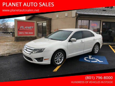 2011 Ford Fusion for sale at PLANET AUTO SALES in Lindon UT