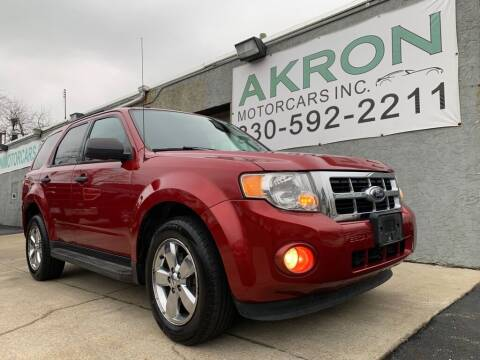 2012 Ford Escape for sale at Akron Motorcars Inc. in Akron OH