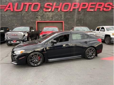 2019 Subaru WRX for sale at AUTO SHOPPERS LLC in Yakima WA