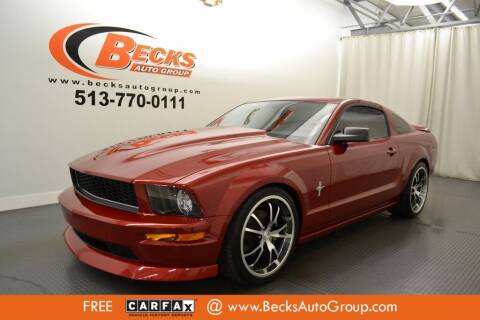 2008 Ford Mustang for sale at Becks Auto Group in Mason OH