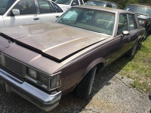 1985 Oldsmobile Cutlass Supreme for sale at Ody's Autos in Houston TX