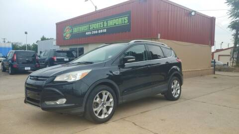 2014 Ford Escape for sale at Southwest Sports & Imports in Oklahoma City OK