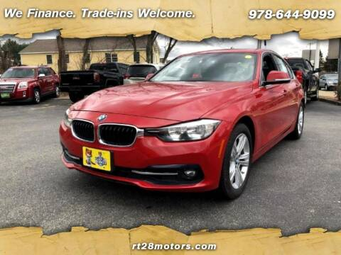 2017 BMW 3 Series for sale at RT28 Motors in North Reading MA