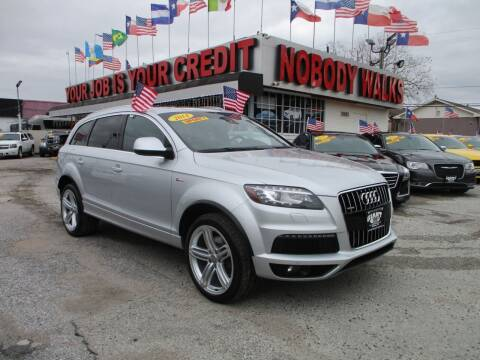 2014 Audi Q7 for sale at Giant Auto Mart 2 in Houston TX