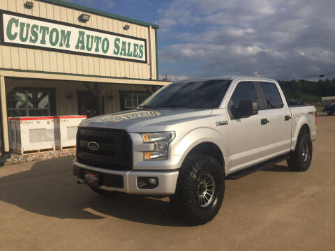 2016 Ford F-150 for sale at Custom Auto Sales - AUTOS in Longview TX
