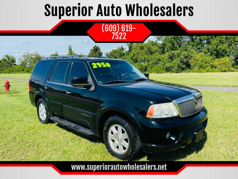 2003 Lincoln Navigator for sale at Superior Auto Wholesalers in Burlington NJ