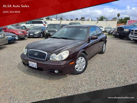 2005 Hyundai Sonata for sale at ALSA Auto Sales in El Cajon CA