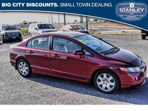 2008 Honda Civic for sale at Stanley Automotive Finance Enterprise - STANLEY FORD ANDREWS in Andrews TX