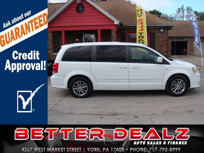 2014 Dodge Grand Caravan for sale at Better Dealz Auto Sales & Finance in York PA