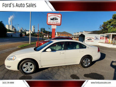 2008 Chevrolet Impala for sale at Ford's Auto Sales in Kingsport TN