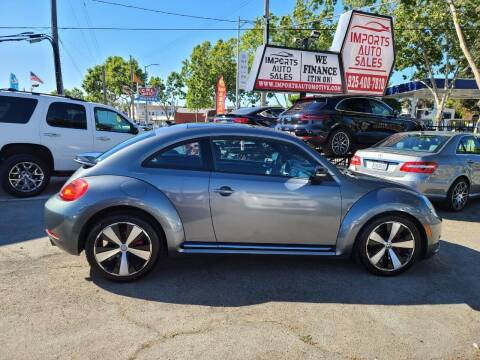 2012 Volkswagen Beetle for sale at Imports Auto Sales & Service in San Leandro CA