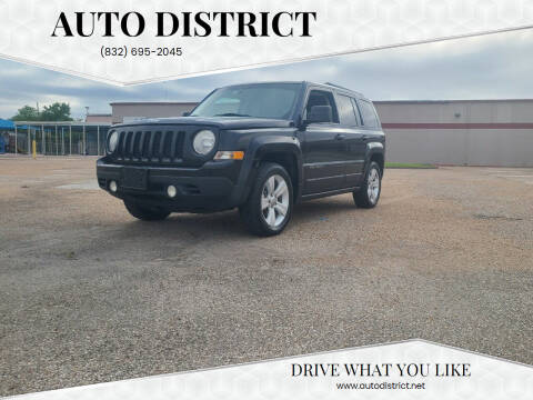 2014 Jeep Patriot for sale at Auto District in Baytown TX
