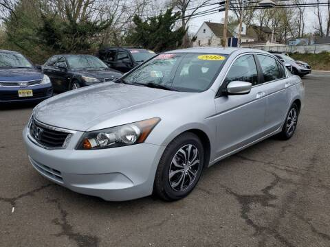 2010 Honda Accord for sale at CENTRAL AUTO GROUP in Raritan NJ