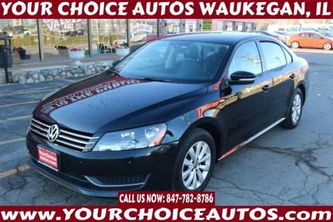 2014 Volkswagen Passat for sale at Your Choice Autos - Waukegan in Waukegan IL