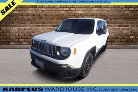 2017 Jeep Renegade for sale at Karplus Warehouse in Pacoima CA