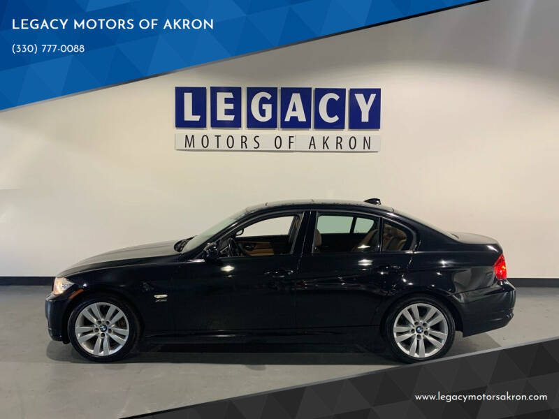 2011 BMW 3 Series for sale at LEGACY MOTORS OF AKRON in Akron OH