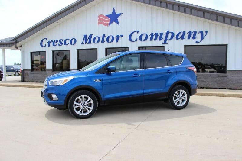 2017 Ford Escape for sale at Cresco Motor Company in Cresco IA