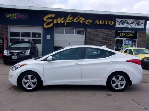 2013 Hyundai Elantra for sale at Empire Auto Sales in Sioux Falls SD