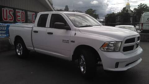 2013 RAM Ram Pickup 1500 for sale at GRANITE RUN PRE OWNED CAR AND TRUCK OUTLET in Media PA