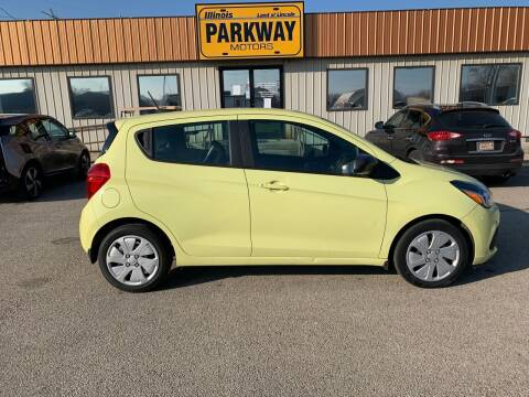 2017 Chevrolet Spark for sale at Parkway Motors in Springfield IL