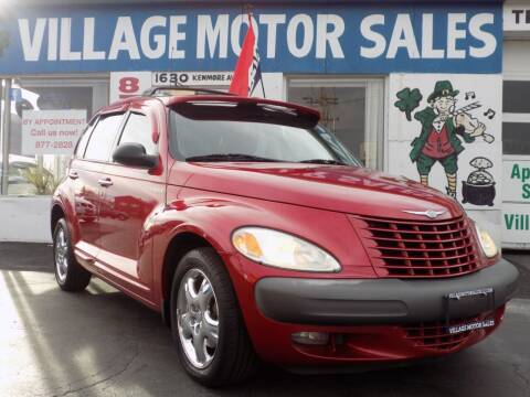 2001 Chrysler PT Cruiser for sale at Village Motor Sales in Buffalo NY