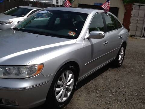 2008 Hyundai Azera for sale at Lance Motors in Monroe Township NJ