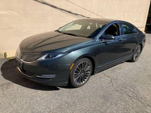 2016 Lincoln MKZ for sale at Bill's Auto Sales in Peabody MA