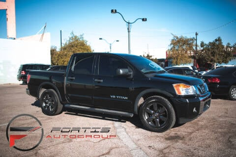 2015 Nissan Titan for sale at Fortis Auto Group in Las Vegas NV