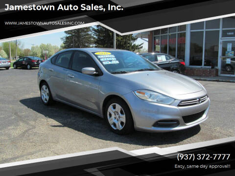 2016 Dodge Dart for sale at Jamestown Auto Sales, Inc. in Xenia OH