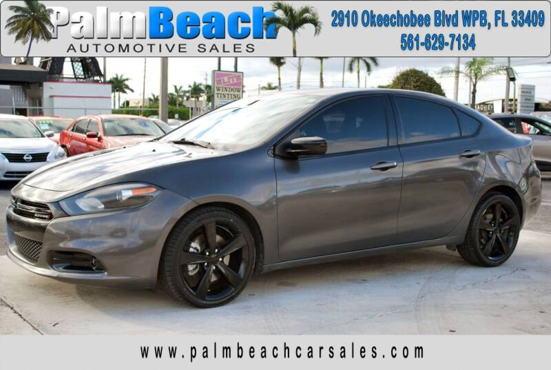 2015 Dodge Dart for sale at Palm Beach Automotive Sales in West Palm Beach FL