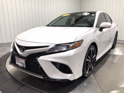 2018 Toyota Camry for sale at HILAND TOYOTA in Moline IL