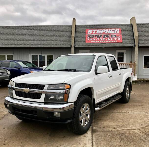 2010 Chevrolet Colorado for sale at Stephen Motor Sales LLC in Caldwell OH