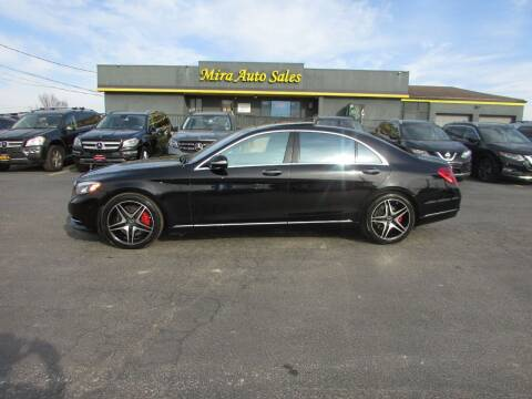 2015 Mercedes-Benz S-Class for sale at MIRA AUTO SALES in Cincinnati OH