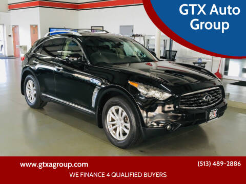 2011 Infiniti FX35 for sale at GTX Auto Group in West Chester OH