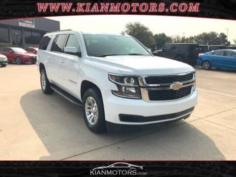2020 Chevrolet Suburban for sale at KIAN MOTORS INC in Denton TX